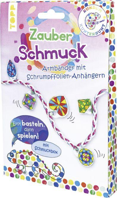 Rundum Kunterbunt Zauberschmuck-Set, VE= 3 Ex.