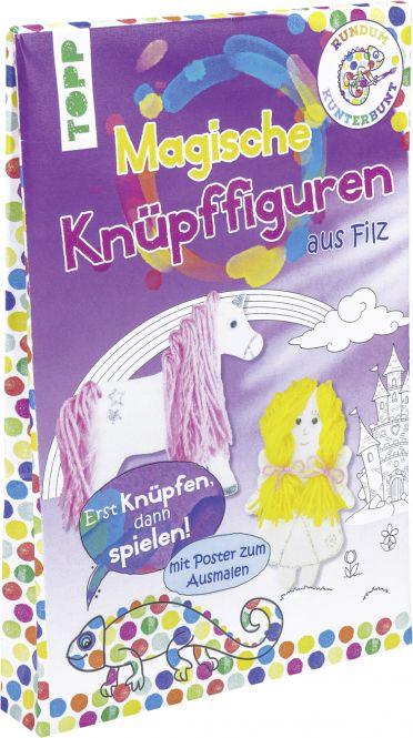 Rundum Kunterbunt Magische Knüpffiguren-Set, VE= 3 Ex.